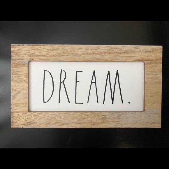 Rae Dunn Dream Sign